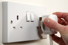 electrical socket installation