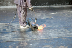 flat roof waterproofing
