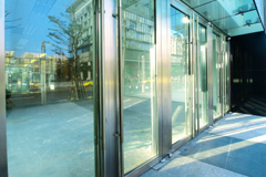 glass door costs