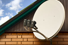 how  satellite dishes work