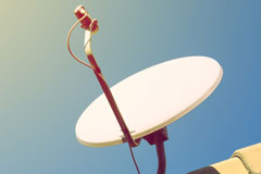 satellite dish installation costs