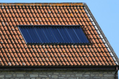 solar water heater costs